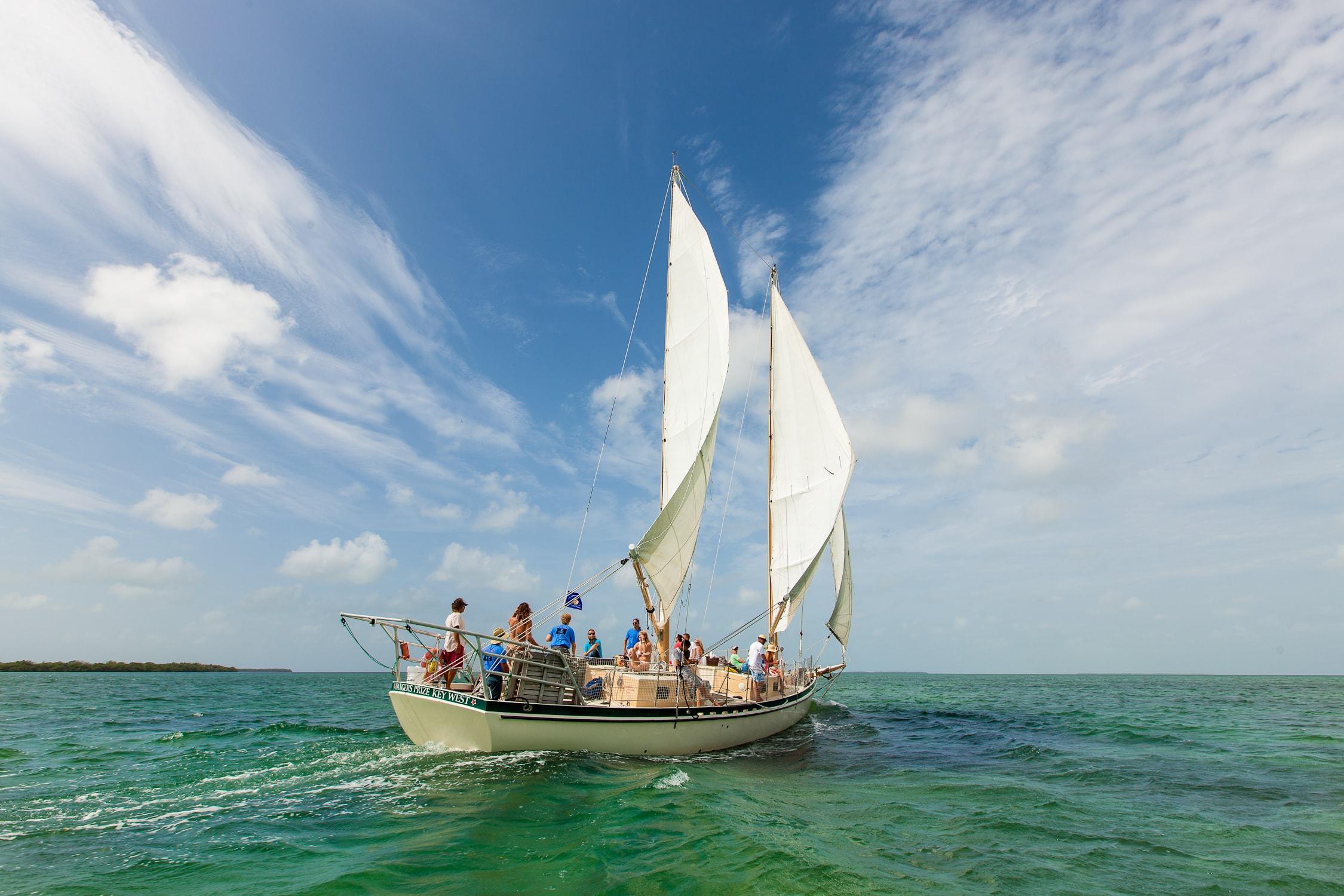 Key West Sail, Snorkel, Kayak With Sunset Option 2020